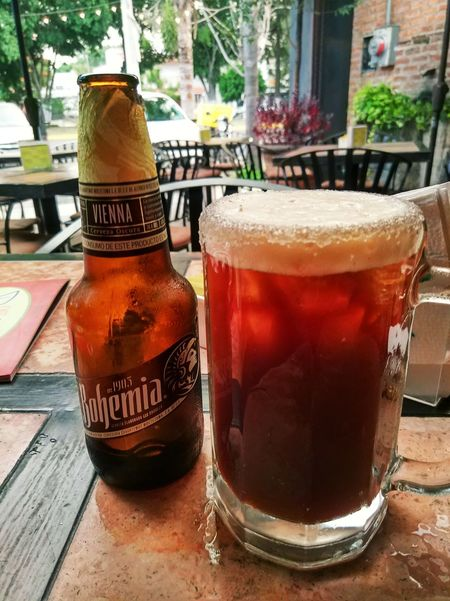 Beer Time Relax Bohemia Cerveza Drink Alcohol Cola Ice Tea Drinking Glass Table Cold Temperature Bottle Close-up Food And Drink Beer Glass Beer Beer - Alcohol Alcoholic Drink
