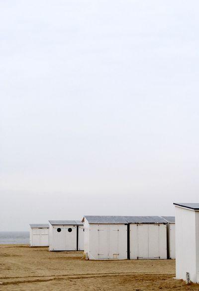 Beach Beach Photography BeachHouse Beachphotography Belgium The Great Outdoors - 2016 EyeEm Awards Cabin Day Horizon Over Water Idyllic Knokke Landscape No People Ocean Outdoors Sand Scenics Sea Seascape Sky Soft Softness Tranquil Scene Tranquility Water
