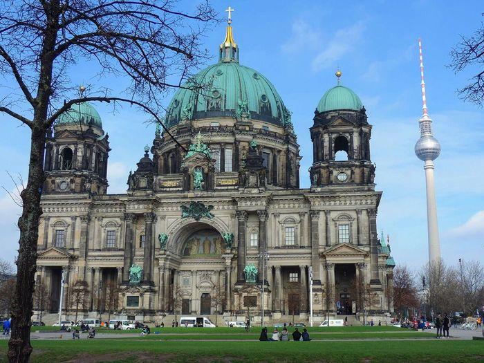 Berlin Berliner Dom Fernsehturm First Eyeem Photo EyeEm Selects