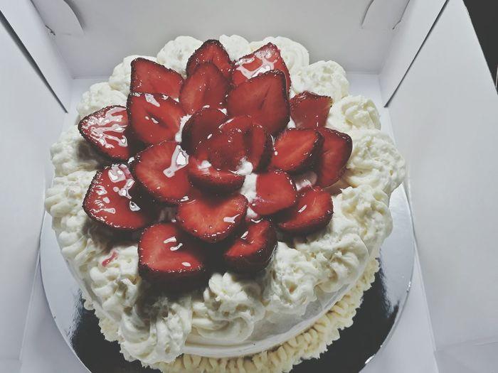 Our anniversary cake Food Dessert Homemade Indulgence