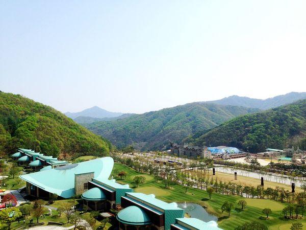 Mountain Architecture Nature Korea