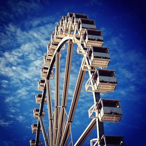 Amusement Park Cloud - Sky Bremen Bürgerweide Freimarkt