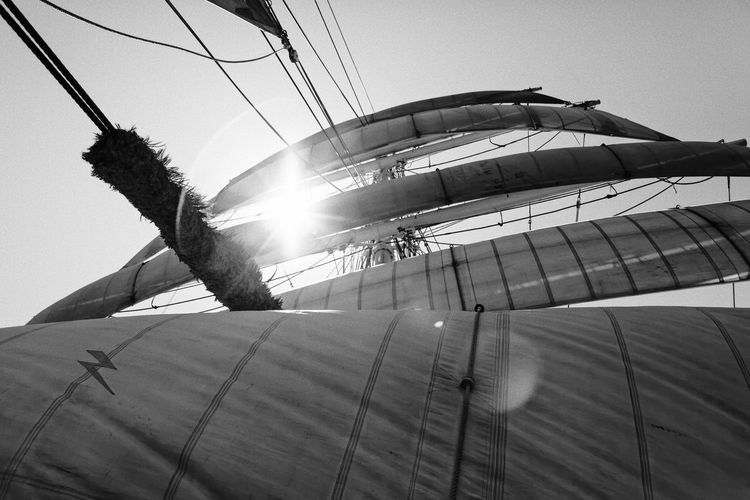 A trip on the 3 Mats Barque Belem back in June 2014. We sailed between Marseilles and Nice. Blackandwhite Bnw Bnw_friday_eyeemchallenge Bnw_society Canvas Day Destination France Lifeatsea Low Angle View Mediterranean  Mediterranean Sea Outdoors Sail Sailing Sailing Ship Sailor Sea Ship Summer Sunbeam Sunlight Tallship The Belem Travel