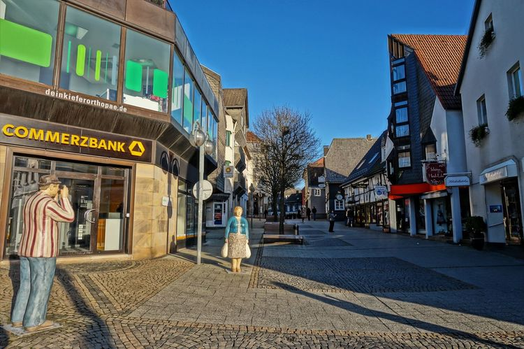 the Fotographer Architecture Building Exterior City Clear Sky Day Framehouses Herdecke In Westphalia No People Old Town Square Outdoors Sky Small Town The Fotographer Travel Destinations Village Photography