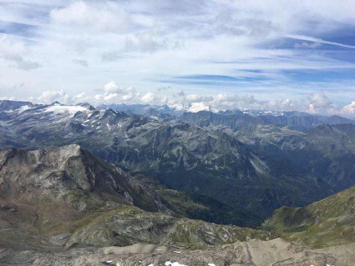 Mountain Scenics - Nature Beauty In Nature Mountain Range Environment Landscape Cloud - Sky Nature Sky Non-urban Scene Outdoors