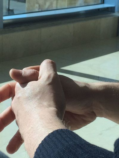 Human Hand Human Finger Real People Human Body Part Focus On Foreground Lifestyles Men Indoors  Leisure Activity One Person Close-up Day
