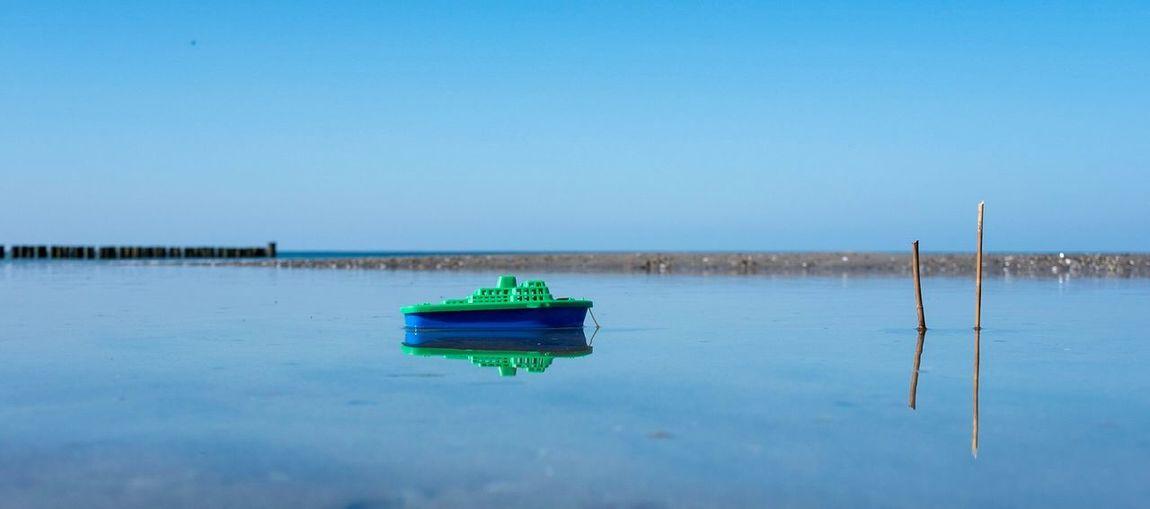 Water Sky Blue
