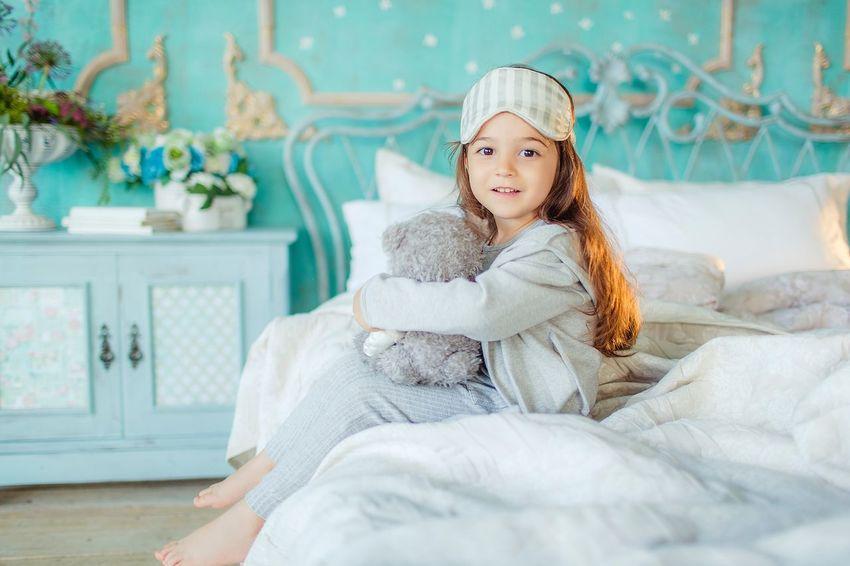 Girl Photography Pajamas Teddybear