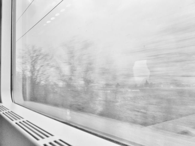 Traveling to Milano through the fog | Traveling Foggy Morning Black And White From My Point Of View Train Window Getting Inspired White Album Gray Day EyeEm Italy |