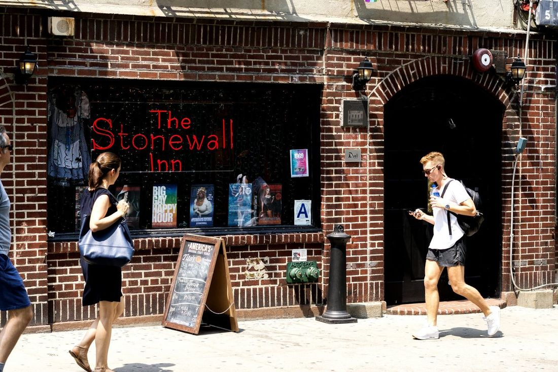 It all Started Here.... NYC Street Photography Street Photography Building Emotion Gay Pride The Stonewall Inn History Civil Rights  Turning Point Sony A6000