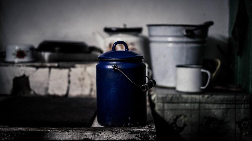 village life Village Life Stove Tin Flask Water Jar kitchen utensils Kitchen Dacha Bucket Indoors  The Still Life Photographer - 2018 EyeEm Awards