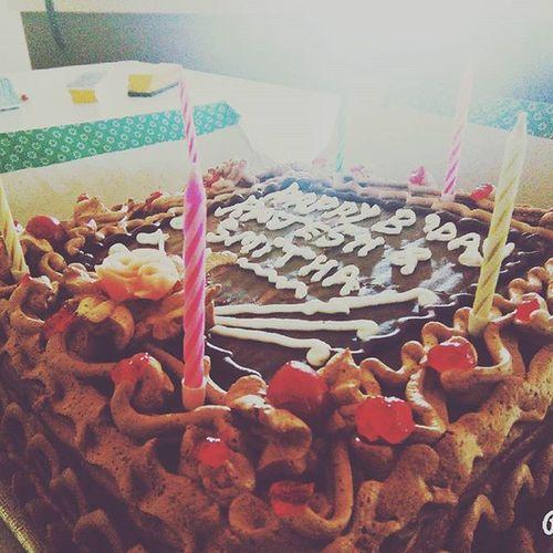 Birthday celebrations :-) Classmatesbirthday Hellosecondsemester Goodbye2015