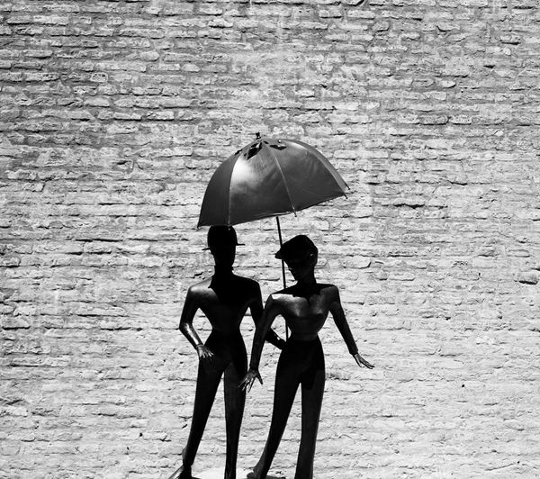 Art Is Everywhere Metalsculpture Metal Brick Wall Blackandwhite Black & White Blackandwhite Photography Monochrome Monochrome Photography ArtWork Art
