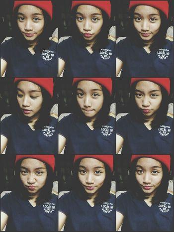 Beanie Selfie
