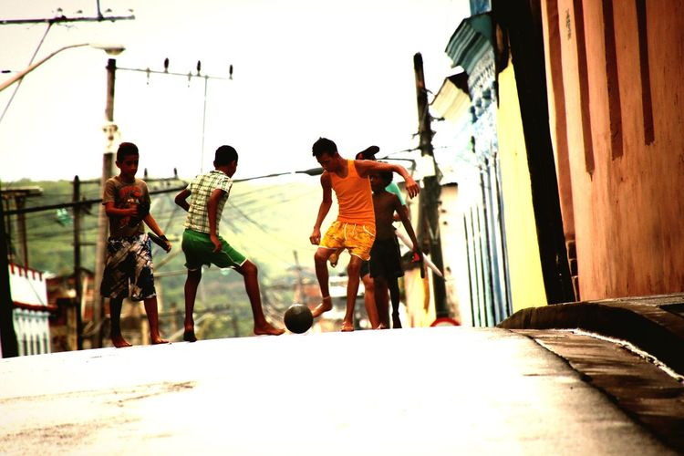 Street photography Football street soccer Street Kids Outdoors People And Places. Travel Photography Cuba The Street Photographer - 2017 EyeEm Awards Been There, Done That