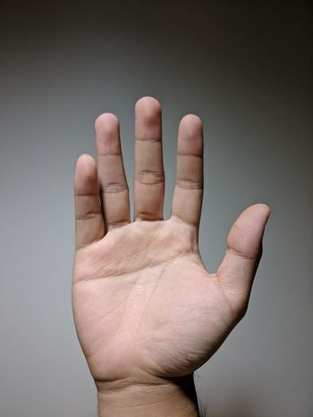 Right Hand Greeting Bye Bye Wave Hand Hand High Five Stop Prevention Decline Hand Up Put Your Hands Up Fingers Raise Your Hand EyeEm Selects Human Body Part Human Hand Human Finger Palm Studio Shot One Person People Stop Gesture One Man Only Close-up