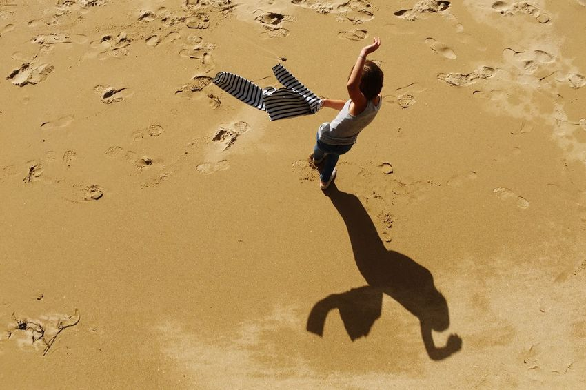 Shadow games... Bird Shadow Sand Tranquility Flying Nature Mid-air Beauty In Nature Outdoors Tranquil Scene Vacations AMPt - Shoot Or Die Capturing Freedom Life Is A Beach Capture The Moment Scenics