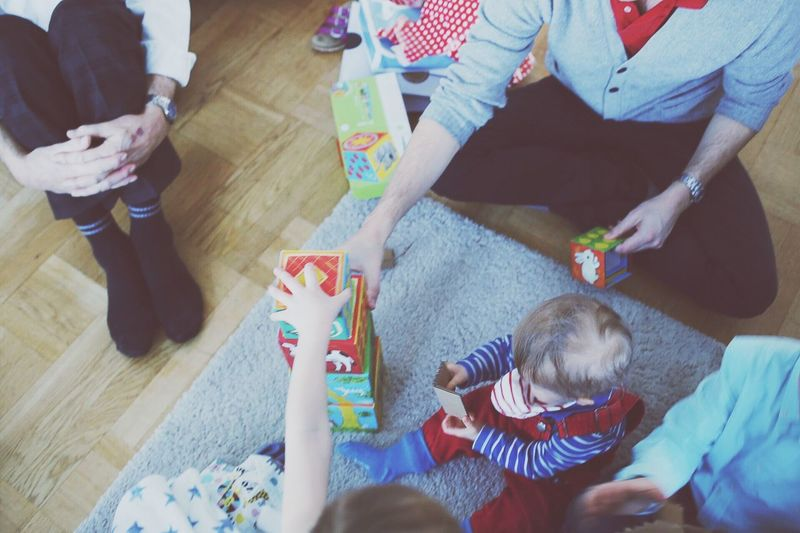 People Together Family Familylife Family Time Family Matters Familyday Family Fun FamilyTime Togetherness Lovely Lifestyles At Home People Overhead View Sittning On The Floor Day Build Playing Childhood Children Kids Playing Evolution  Learning Learn Baby