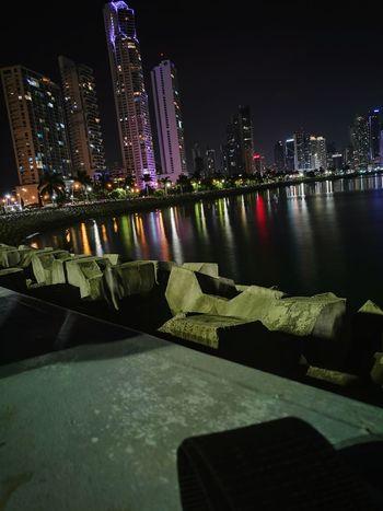 Stunning! Panama night life.