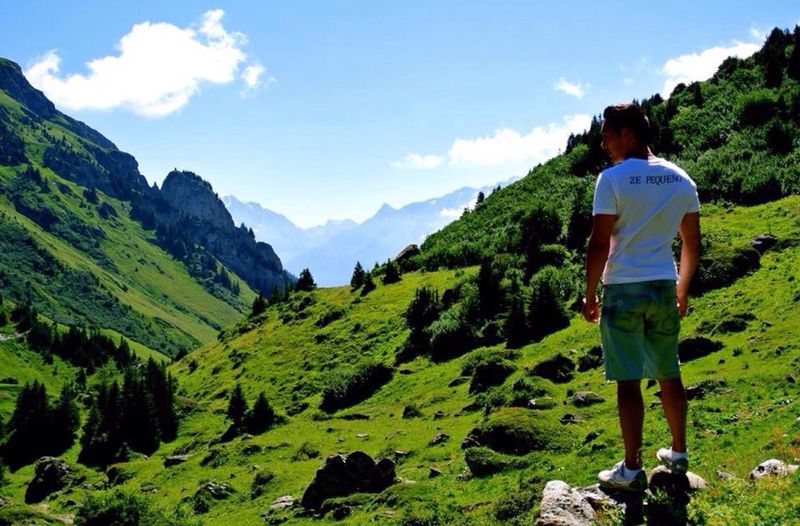Living in the Valley of Mont Blanc.