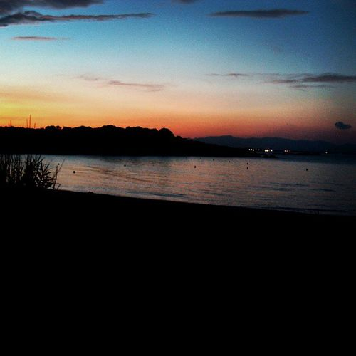 Lescala Ampuries Mediterraneo Sunset