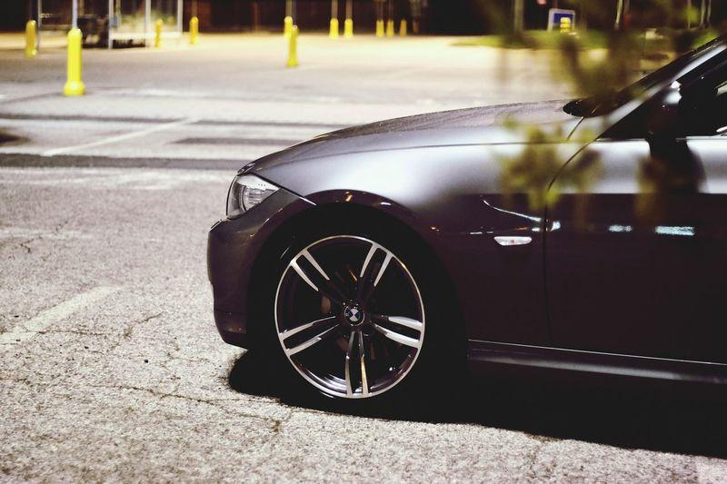 Bmw Night Car Urban
