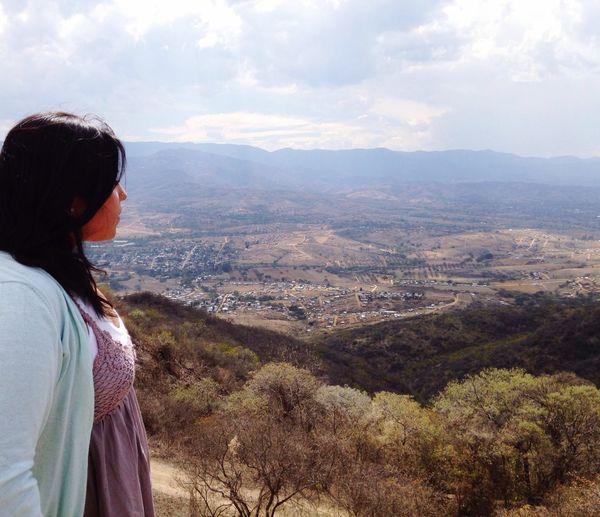 MonteAlban Oaxaca México  ArcheologicSite Mexican Girl ThatsMe