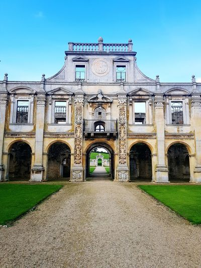 Architecture Façade Northamptonshire Kirby Hall Building Exterior Arch Architecture Photography