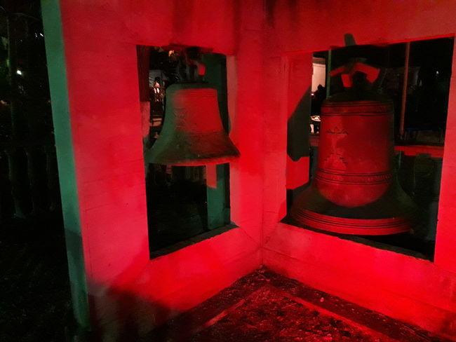 Bells Red Color Red No People Night Venezuelafotos_ Campana Night Photography Nightshot