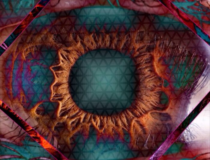 ...these eyes... Abstract Art Eyes Fragmentapp Tangentapp Psychedelic