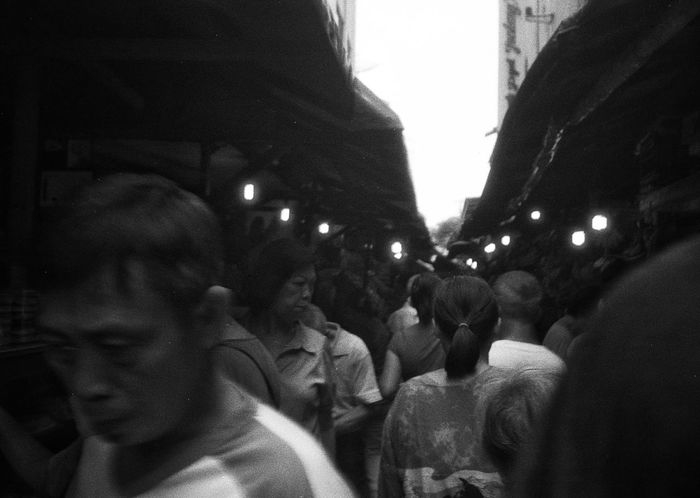 Petak 9 market, 2017 Large Group Of People Daily Activities Filmphotography Daily Life Jakarta 35mm Outdoors Streetphotography INDONESIA City Market People The Street Photographer - 2017 EyeEm Awards