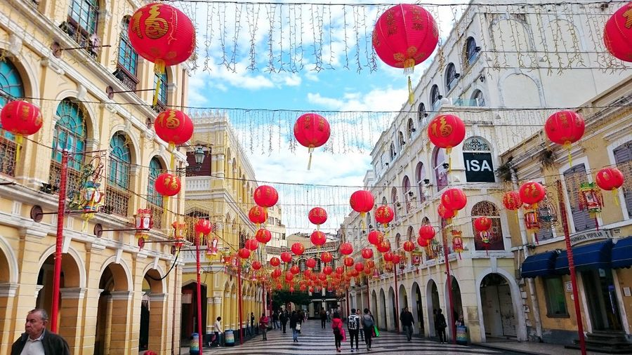 Architecture Travel Destinations Sky Day Outdoors Built Structure Building Exterior Hanging Dome No People Macau, China Macautrip