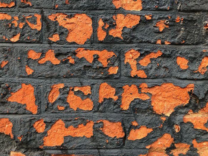 Brick textured
