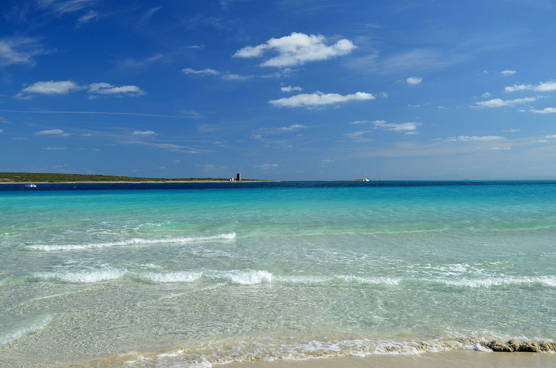 Sardegna Italia La Pelosa Stintino Stintino Sardegna Amazing Beaches Beach Beaches Of Sardinia Beauty In Nature Blue Horizon Over Water Italy La Pelosa Beach Sardegna Sardegna_super_pics Sardegnaofficial Sardinia Sea Sky Stintino Water