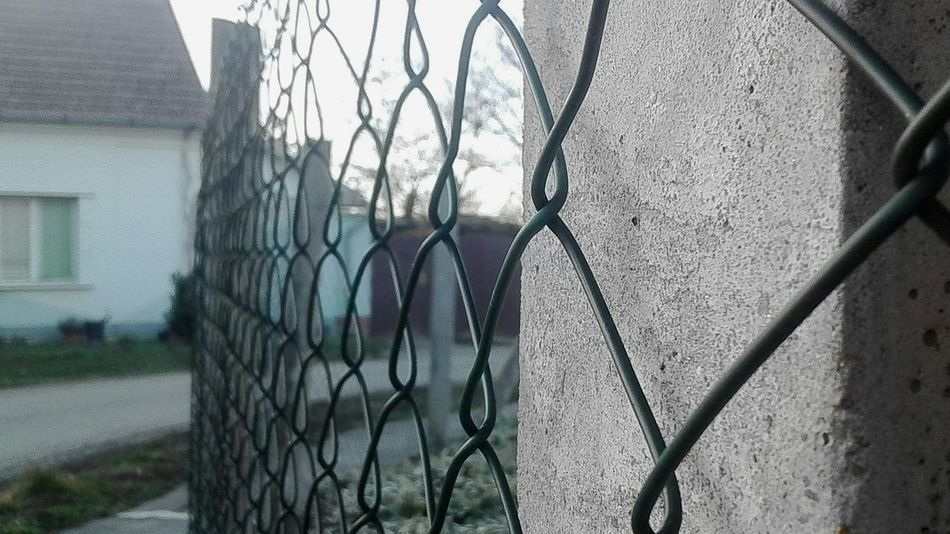 Chainlink Fence Architecture Built Structure Safety Security Protection Metal Outdoors No People Nature Day Barbed Wire Prison