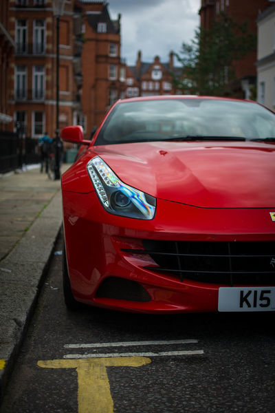 Car Red City Outdoors England Beautiful Fast Supercar Fastcar British Nice Exhaust Ferrari England London Exotic Car  Supercar HorsePower ✔ Purespeed Cars Topspeed Speed The Week On EyeEm Your Ticket To Europe