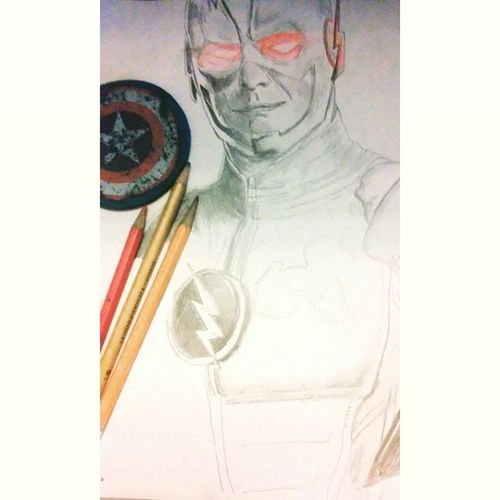 Work in progress of what I've drawn so far of Tom Cavanaugh reverse flash.I absolutely love his performance and the show overall. Reverseflash Tomcavanagh DC Drawing ArtWork Sketch Pencils Drzoom Theflash Thawn Drwells CW Eobardthawne Comics Tvshows Supervillians Seasonone Artist Illustration