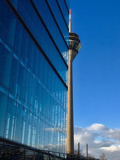 Skyscraper and Rheinturm. 33 The Great Outdoors - 2017 EyeEm Awards
