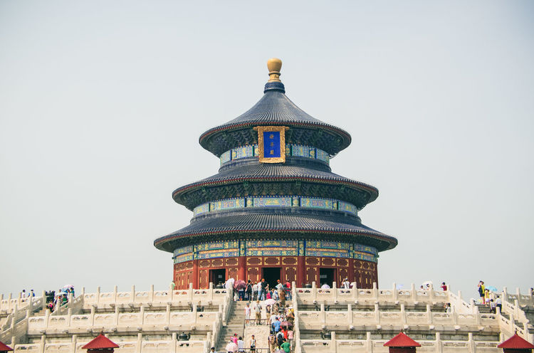 Beijing China Culture Cultures Documentary History International Landmark Old Buildings Shantou Temple Temple - Building Temple Of Heaven Traveling