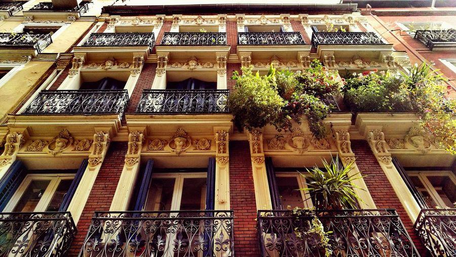 Madrid SPAIN Building Enjoying Life
