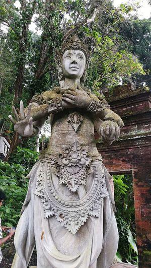 Statue Vishnu Water Palace Tirtangga Bali INDONESIA