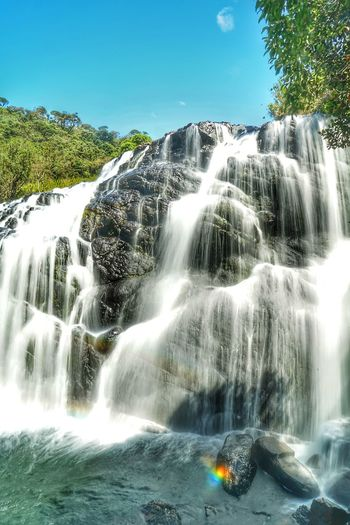 Waterfall Scenics - Nature Water Long Exposure Flowing Water Motion Tree Beauty In Nature Nature Blurred Motion Plant Forest Flowing Rock Day Splashing Land No People Environment Power In Nature Outdoors Falling Water Running Water