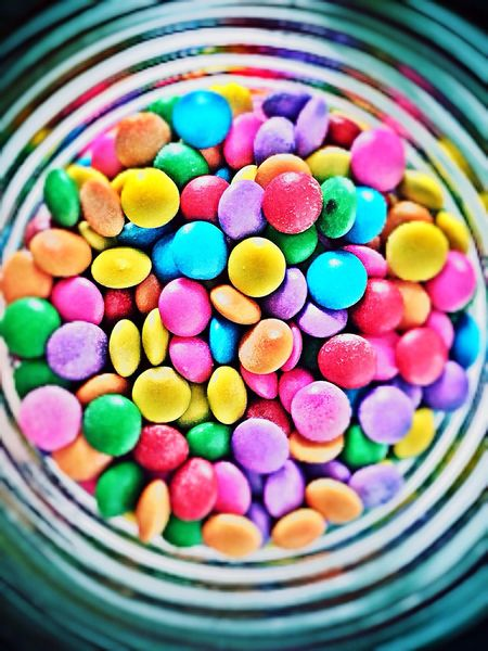 Have a colorful Life like confettis Confettii Confete Colorful Colorfull Filter Candies Colorful Candies! Sweets Chocolates Food Porn