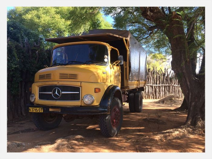 Old Truck Mercedes Nambw2014