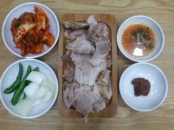 dombe-gogi of jeju. Food Ilsan  korea.