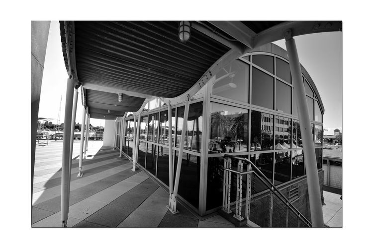 Observation Deck 2 Jack London Square Marina Port Of Oakland, Ca Architecture Lookout Deck Architectural Detail Nautical Theme Lighthouse Monochrome_Photography Monochrome Black & White Black & White Photography Black And White Black And White Collection  Architecture_collection Reflections Glass Reflected Glory Reflections In The Windows