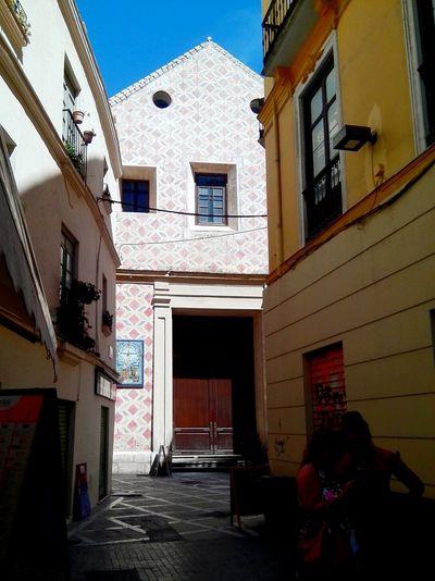 Málaga Spain ❤ Church Eglise Iglesia Streetphotography Building Exterior アンダルシア 壁 教会 スペイン