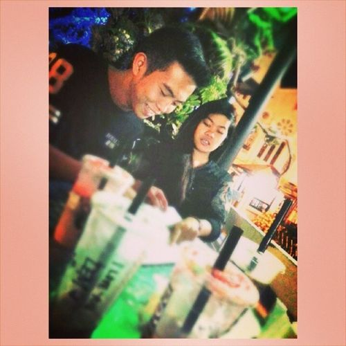 Remember this? <3 @daryllangel @earljohnencarnacion We are Witnesses to your love :) charr! :* hope you guys be with each other forever too :') love love loooove! :)