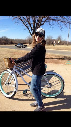 Bike riding, okc. Oklahoma City Hefnerlake