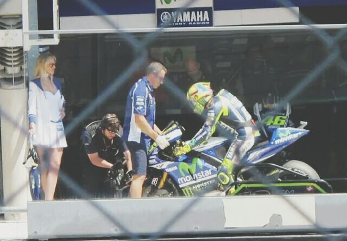 remember when i saw the doctor VR46 Motogp Motorcycle Rossi
